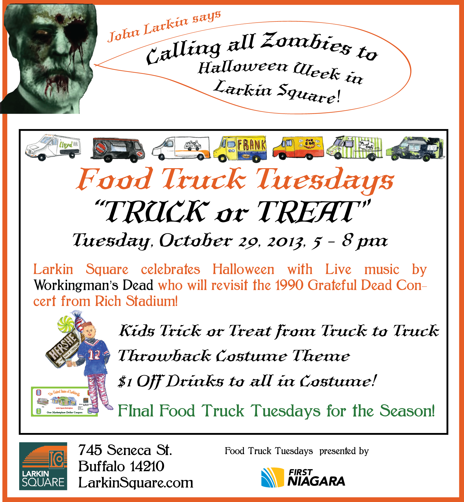 Haunted Food Truck Rodeo